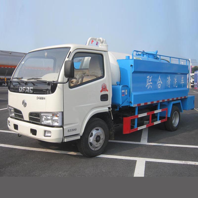 HLW5060GQXWE vacuum suction and pressure washing truck