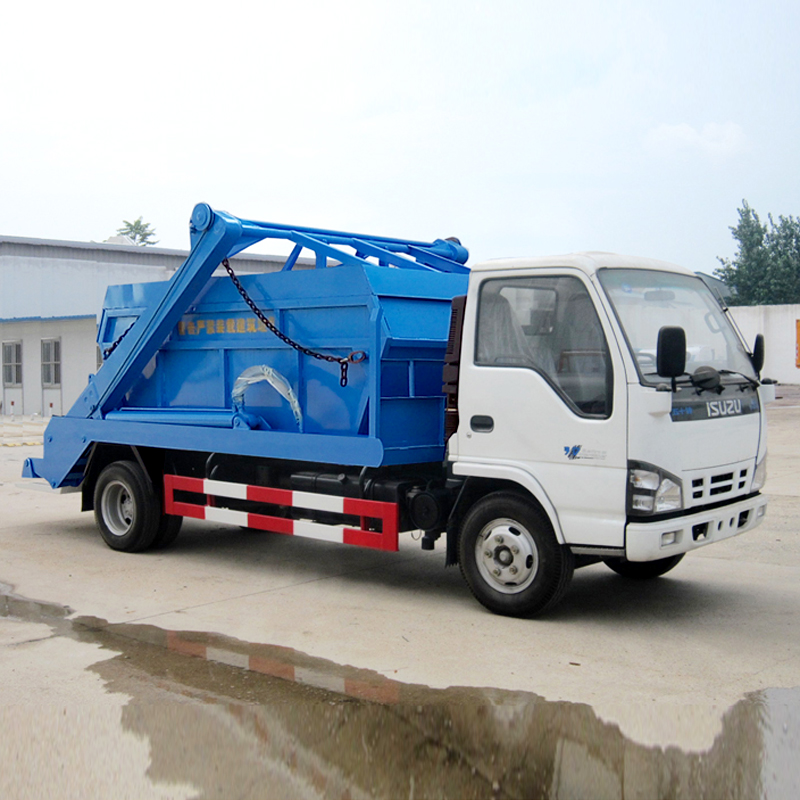 HLW5070ZBSQ swing arm garbage truck