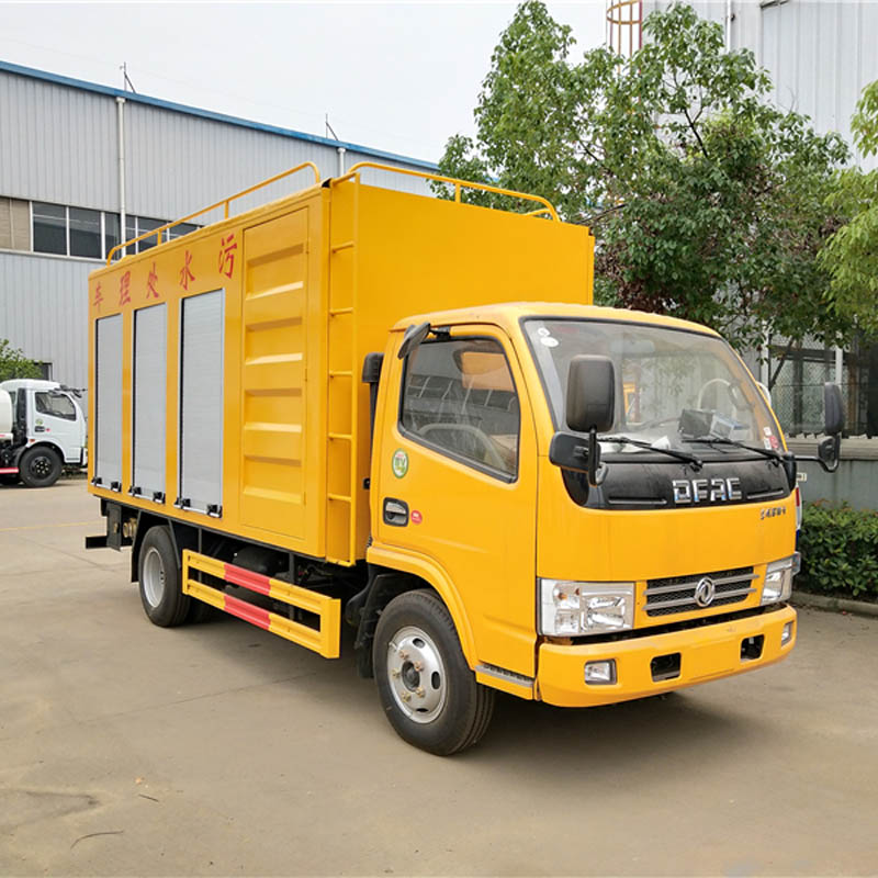 HLW5060TWCE sewage treatment truck