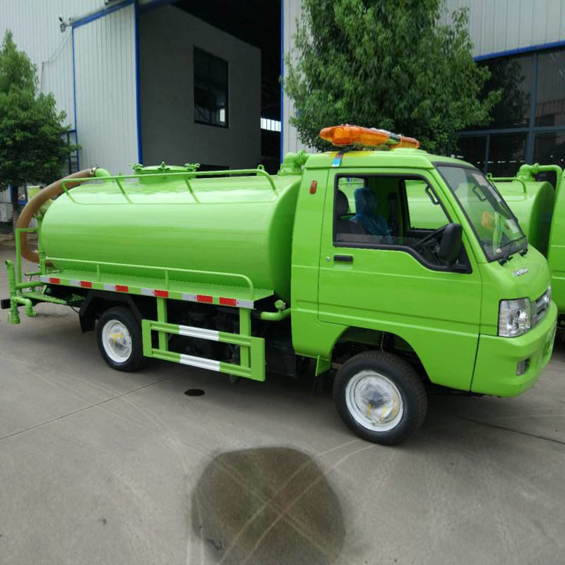 HLW5010GXEB fecal suction truck