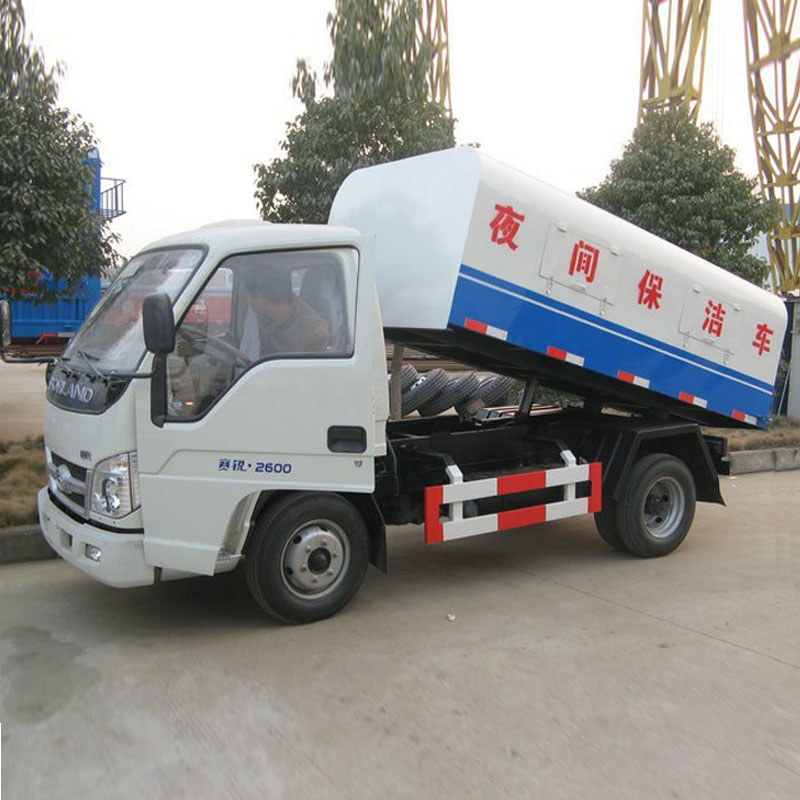 HLW5042ZLJB sealed garbage truck