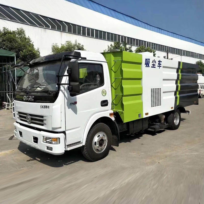 HLW5090TXCE vacuum dust absorption truck